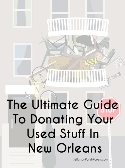 Ult Guide to Donating Stuff